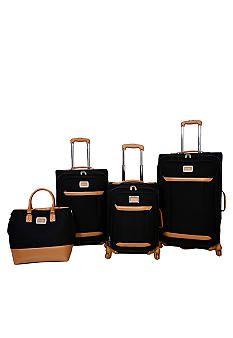 Jessica Simpson Brights Luggage Collection - Black - Belk.com