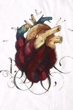 corazón en rama