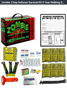 Zombie survival kit on Amazon.com