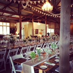 Wedding at The Barn in Wallington, Victoria. Catered by Truffleduck