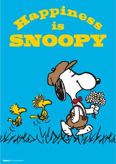 Happiness is SNOOPY