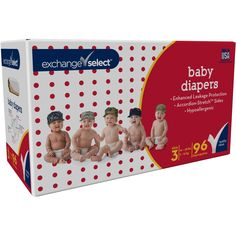 In original box unopened. Wrap your little one in the best with premium stretch sides, shaped core and advanced leakage protection. Diaper Brands, Disposable Diapers, Toys Shop, Baby Toys, Counting, The Selection, Toddler Bed, Shapes, Favorite Things