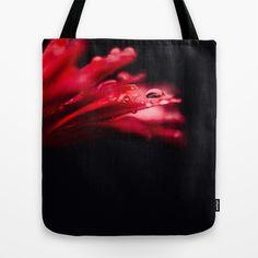 Erotic Gerbera Tote Bag by Tomas Hudolin - $22.00