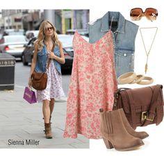 Sienna Miller Style -- created by #schnursays #Polyvore #siennamiller