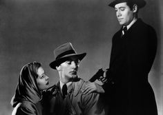 Out of the Past with Robert Mitchum. Underrated fantastic actor