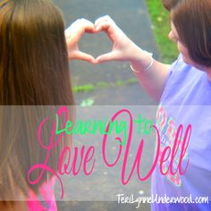 Learning to Love Wel