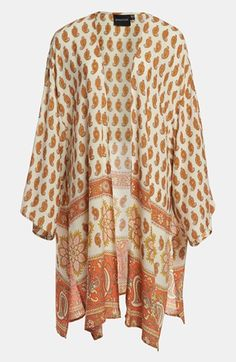 Another poolside option: MINKPINK 'New Dawn' Kimono Cape
