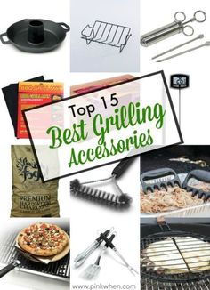 Looking for Father's Day Gift Ideas? Check out these Top 15 Best Grilling Accessories.