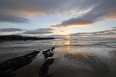 Wide views at a Saligo Bay sunset, Isle of Islay