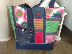 Strandtaschen - Shopper / Strandtasche < LISA > - ein Designerstück von FADENREICH-elt bei DaWanda