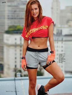 Marina Ruy Barbosa, rousse brésilienne