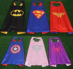 36 styls! - SUPERHERO CAPE-Super Hero Cape - Boys and girls Cape-Custom Cape-Birthday Gift-Kid Cape-Cape-Kids Gift-Superhero Costume