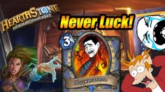 Never Luck on tempo mage.Hearthstone:heroes of warcraft