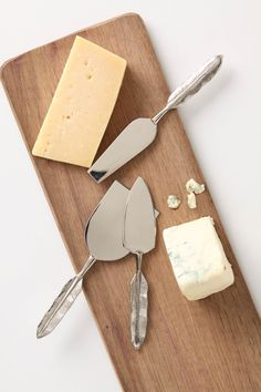 Quill Cheese Knife Set -