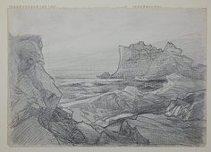 Frederick Judd Waugh graphite