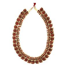 Traditional South Indian temple jewelry