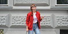 Ripped Jeans & Bomber ~ Mi Vida en Rojo