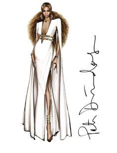 #PeterDundas X #Beyonce | Grammy Awards Dresses #RobertoCavalli 💫