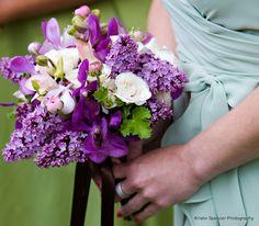 I want lilacs...someway.   Stoneblossom Florals' Bouquets