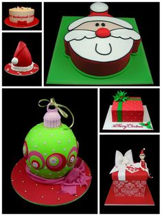 Christmas Cake -  how cool are they!!??