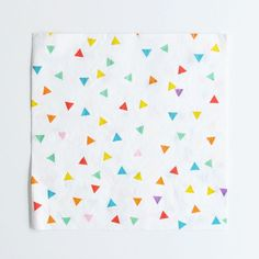 Paperilautasliina, värikkäät kolmiot (20 kpl)