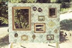 Antique Frame Wall.