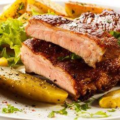 Costillita de cerdo al vino - Cocina - REVISTA PRONTO - www.pronto.com.ar