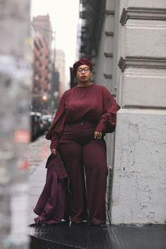 Fat Fashion, Curvy Girl Fashion, Plus Size Fashion, Fashion Outfits, Petite Fashion, Style Fashion, Womens Fashion, Plus Size Street Style, Fall Outfits