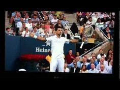 The best tennis rally ever Nadal vs Djokovic .... displays super stamina tennis players have :)