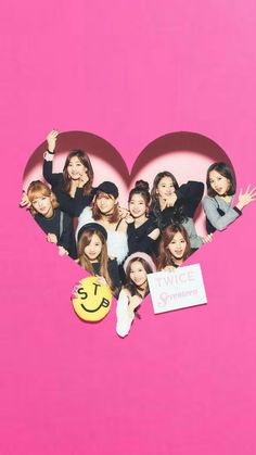 💖 twice wallpaper 💖 Kpop Girl Groups, Korean Girl Groups, Kpop Girls, South Korean Girls, Nayeon, Extended Play, Twice Group, Warner Music, Twice Fanart