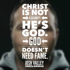 Christians and Their Celebrity Pastors, Josh Valley | http://www.bedlammag.com/christians-and-their-celebrity-pastors/