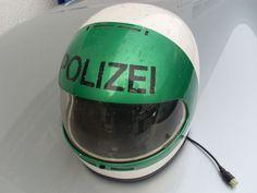 German Motorpolice Helmet