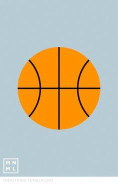 #9 Basketball - MNML THING http://mnmlthing.tumblr.com