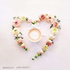 Coffee Heart, Coffee Girl, Coffee Flower, But First Coffee, Latte Art, Heart Art, Coffee Break, Yummy Drinks, Coffee Drinks