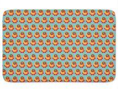 Memory Foam Standard Stylish Buddy Orange Bath Mat Non Skid Latex 17 x 24 Inches Bathroom Bath, Doormat, Home Kitchens, Memory Foam, Bath Mat, Latex, Orange, Rugs, Stylish