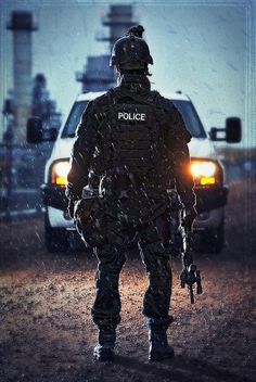 #Police #SWAT- daddy