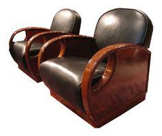 Art Deco Tub Chairs | Art Deco