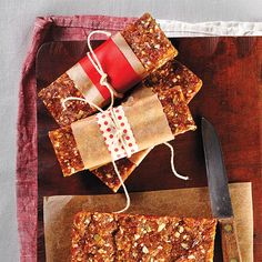 Store-bought energy bars are tasty, but you'll be amazed at how quick and easy it is to make a sweet, nutty version at home.