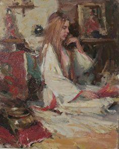 Serene by Dan Beck Oil ~ 20 x 16