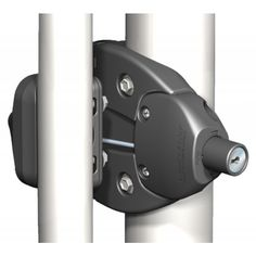 This model combines the Lokk Latch Series 2 along with the External Access Kit. The External Access Kit is a lockable push button accessory operates by way of a connecting rod (adjusts for posts) between the latch and kit.