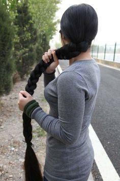 Super largo pelo fotos tomadas por hezhitengfei - [ChinaLongHair.com]
