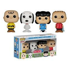 The Peanuts gang are coming to Pop! Collect Charlie Brown, Snoopy, Lucy, and Linus in this Target exclusive Pop! Pop Vinyl Figures, Pop Marvel, Funko Mini, Pop Vinyl Collection, Funko Pop Dolls, Pop Figurine, Funk Pop, Disney Pop, Pop Characters
