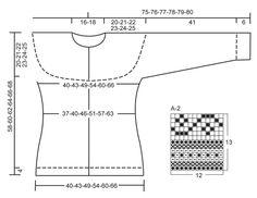 """Martha / DROPS 143-11 - Gebreid DROPS vest met ronde pas, patroon en elleboogstukken van """"Karisma"""". Maat S - XXXL. - Free pattern by DROPS Design"""