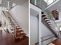 Details Staircase1 Compact Elegant House With Volumes and Irregularities by Habitat Studio & Workshop