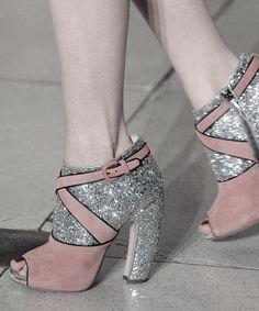 Shoe detail from Miu Miu F/W 2011