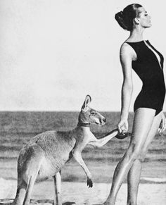 Australiavia Vogue 1964  Helmut Newton #VintageGlamour #LunaAtelier