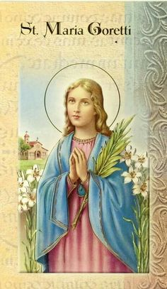 St. Maria Coretti  pray for us