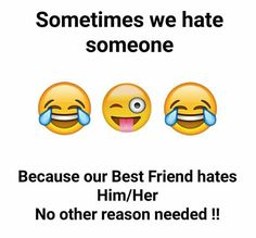 some jokes should always ignore ignore ignore bc of ammu written beneath Best Friend Quotes Funny, Besties Quotes, Cute Funny Quotes, Bestfriends, Fun Quotes, Bffs, Funny School Jokes, Very Funny Jokes, Funny Memes