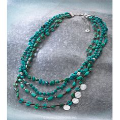 TICKLE ME TURQUOISE NECKLACE You'll be giggling with excitement over glam like this! Stabilized Turquoise, Magnesite, Sterling Silver. I LOVE THIS NECKLACE. MYSILPADA.COM/TERESA.WENNER