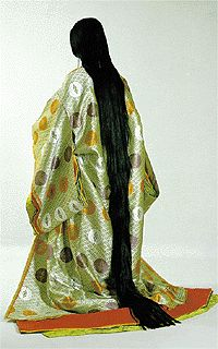 A great, loooong board that's full of information about Heian garb. Including that mo (the reverse apron/skirt/thing) might have been invented just to keep 5-8 foot long hair off the floor. I now must draw Rapunzel from tangled in Heian garb. She would fit right in!